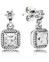 PANDORA - Timeless Elegance Earrings - Lyst