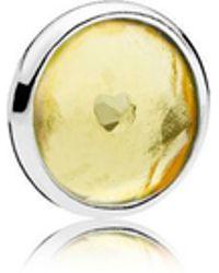 PANDORA - November Droplet Petite Locket Charm - Lyst