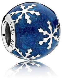 PANDORA - Wintry Delight Charm - Lyst