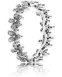 Pandora | Dazzling Daisy Band Ring | Lyst