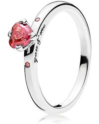 PANDORA - You And Me Ring - Lyst