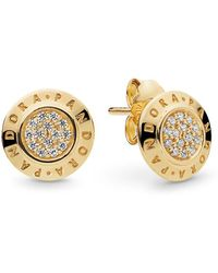 cbb63a30d Links of London Signature 18ct Rose-gold Plated Drop Earrings in Metallic -  Lyst