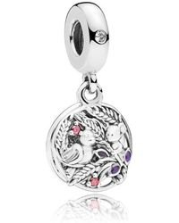 PANDORA - Always By Your Side Pendant Charm - Lyst