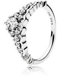 Pandora | Fairytale Tiara Ring | Lyst