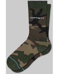 Carhartt Wip Stance Camo Laural Socks - Green