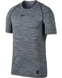c07705b0 Lyst - Nike Pro Top in Gray for Men