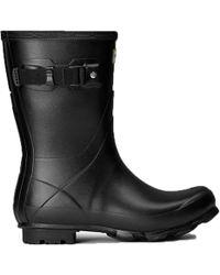 HUNTER - Norris Field Short Rain Boot - Lyst