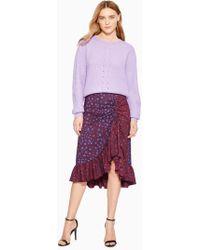 Parker - Kylie Leopard Skirt - Lyst