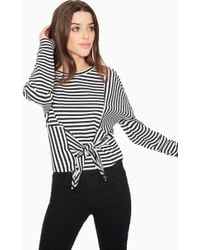 Parker - Nanette Striped Top - Lyst