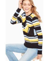 Parker - Montego Stripe Ruffle Sweater - Lyst