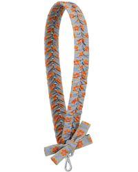 Fendi - Ribbon Shoulder Strap Light Blue - Lyst