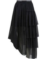 Loewe - Ruffle Skirt - Lyst