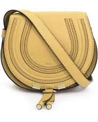 Chloé - Marcie Small Bag Bleached Brown - Lyst