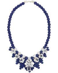 EK Thongprasert - Silicone Seven Jewel Neckpiece Dark Blue/white Crystals - Lyst
