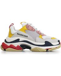 Balenciaga - Triple S Low Top Trainers - Lyst