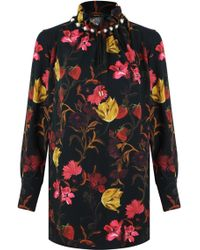 Mother Of Pearl - L/s Dorothea Vienna Floral Print Top Multi - Lyst