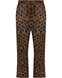 Isabel Marant - Etoile Noua Geometric Print Pants Ochre - Lyst