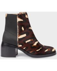 Paul Smith - Camouflage 'Warren' Boots - Lyst
