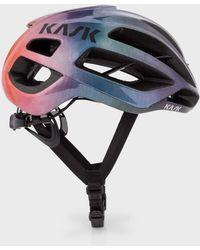 Paul Smith - Kask 'Rainbow Gradient' Protone Cycling Helmet - Lyst