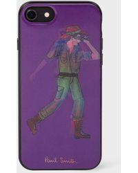 Paul Smith - Purple 'People Explorer' Lenticular iPhone 6/6S/7/8 Case - Lyst