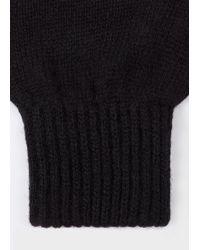 Paul Smith - Black Cashmere-Blend Gloves - Lyst