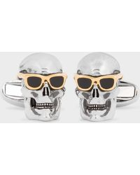Paul Smith - 'Skull & Sunglasses' Cufflinks - Lyst