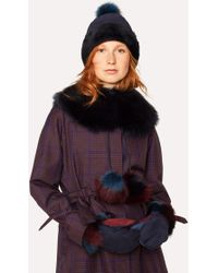 Paul Smith - Three-Colour Mittens - Lyst