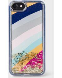 Paul Smith - 'Glitter Swirl' iPhone 7/8 Case - Lyst