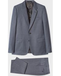 Paul Smith - The Soho - Tailored-Fit Dark Grey Three-Piece Suit - Lyst