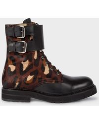 Paul Smith - Camouflage 'Gordon' Boots - Lyst