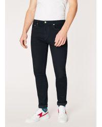 Paul Smith - Slim-Standard 'Blue/Black Reflex' Jeans - Lyst