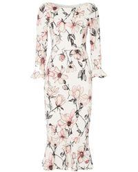 Goat - Gigi Magnolia Print Dress - Lyst