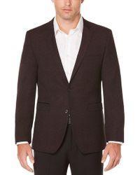 Perry Ellis | Slim Fit Burgundy Sport Coat | Lyst