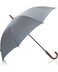Perry Ellis | Stripe Stick Umbrella | Lyst