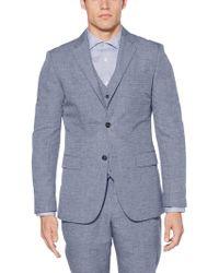 Perry Ellis - Slim Fit Linen Suit Jacket - Lyst