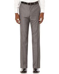 Perry Ellis - Regular Fit Birdseye Suit Pant - Lyst