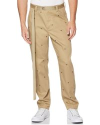 Perry Ellis - Embroidered Chino - Lyst