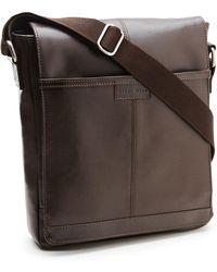 Perry Ellis | Leather Crossbody Bag | Lyst