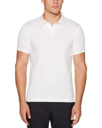 Perry Ellis - Short Sleeve Solid Polo - Lyst