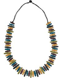 Phase Eight - Remi Wooden Necklace - Lyst