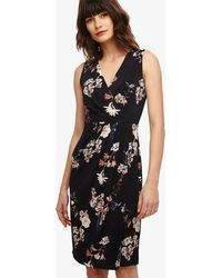 Phase Eight - Fiona Floral Slinky Jersey Dress - Lyst