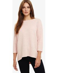 Phase Eight - Piera Ripple Stitch Knitted Jumper - Lyst