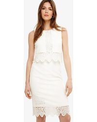 Phase Eight - Abrienne Embroidered Dress - Lyst