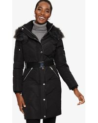 Phase Eight - Bernadine Long Puffer Coat - Lyst