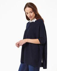 Phase Eight - Rachele Shirt Poncho - Lyst