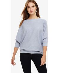 Phase Eight - Blue Becca Batwing Knit Jumper - Lyst