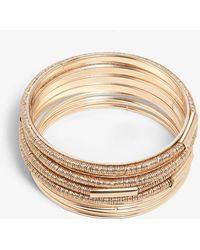 Phase Eight - Meryl Wrapped Bangle Bracelet - Lyst