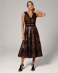 Phase Eight - Nanette Jacquard Dress - Lyst