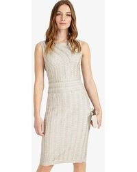 Phase Eight - Lucia Tapework Dress - Lyst