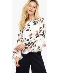 Phase Eight - Heather Floral Print Blouse - Lyst